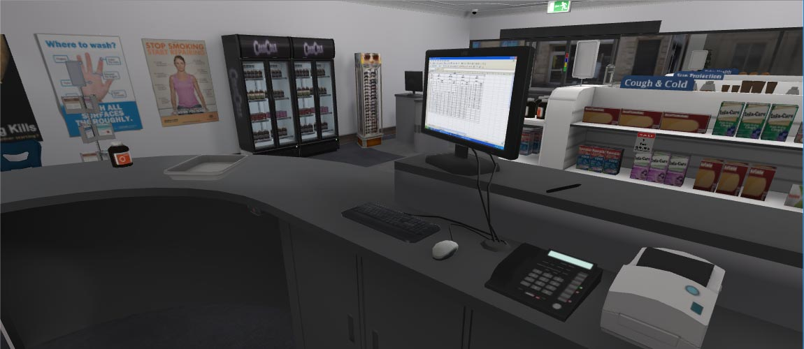 Pharmacy Simulator