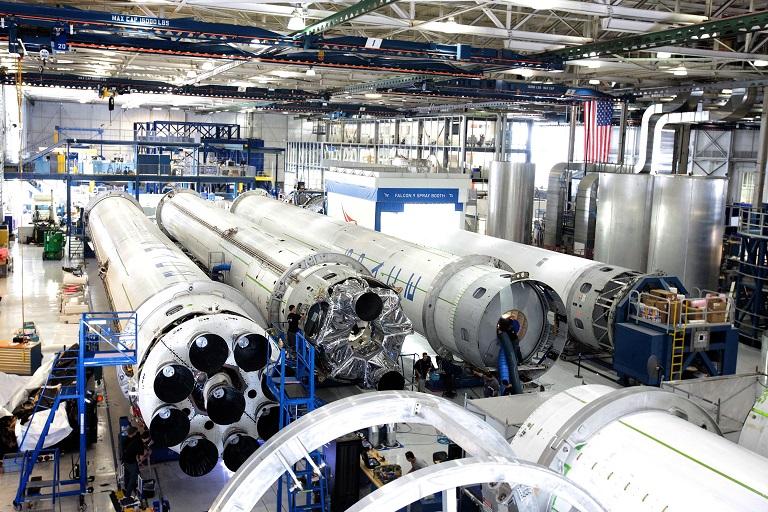 A rocket factory