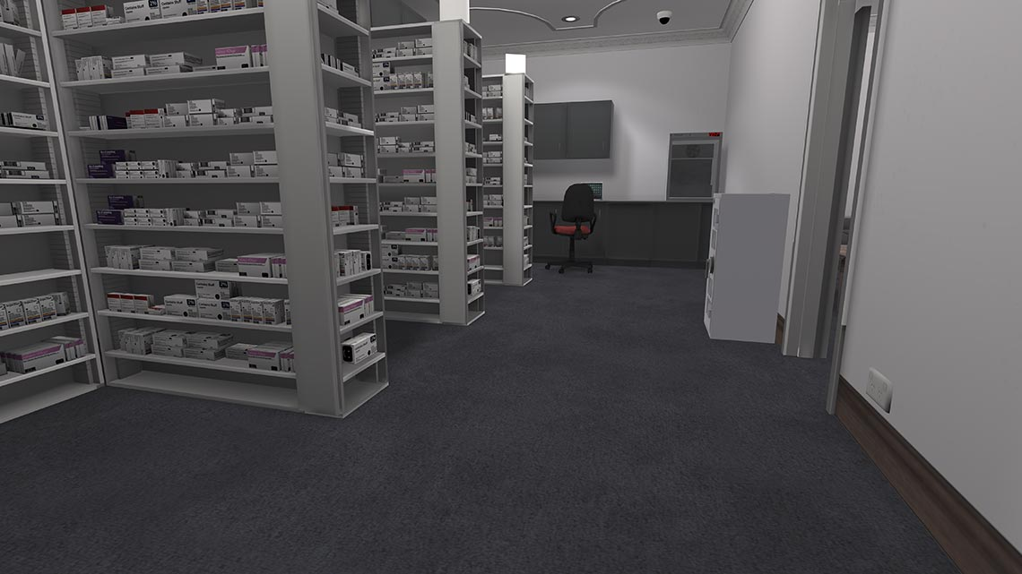 Pharmacy Simulator