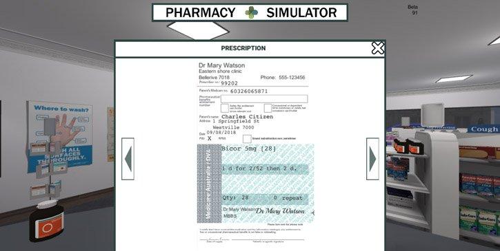 A prescription